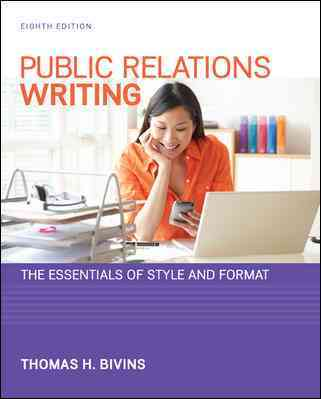 Public Relations Writing By Bivins, Thomas