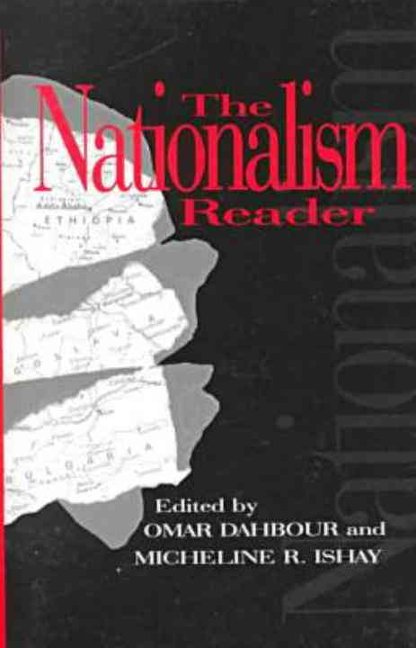 The Nationalism Reader By Dahbour, Omar